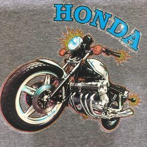 Vintage motorcycle Honda CBX t-shirt heat transfer